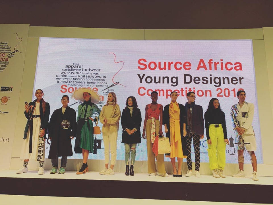 Source Africa Young Designer Competition Winner 2019 Haute Fashion Africa Hfa